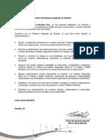 Politica Sistema Integrado de Gestion.pdf