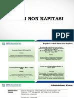 Materi Fktp Bpjs Mengajar Klaim Non Kapitasi