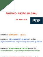 Ppt Grau Do Adjetivo 2017 (1) (1)