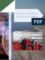 INFORME DE LABORATORIO DE HIDRÁULICA, TEMA DE VERTEDEROS