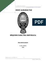 Almaraz Paz Sergio - Requiem Para Una Republica