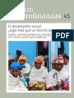 El Desempeño Social- Algo Más Que Un Bonito Escaparate- No 45 SOS Faim