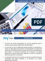 11. Elaboración de Presupuestos (1)