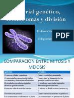 Material genético, cromosomas y división.ppt