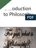 Intro to Philo - Lesson 001