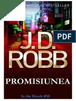 JD Robb in Death 35 Promisiunea