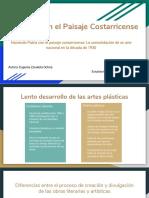 La Patria en El Paisaje Costarricense
