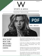 Draft Newsletter