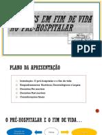 Decisões Em Fim de Vida No Pre-hospitalar