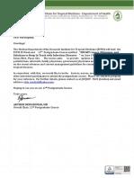 Invitation Letter Generic