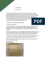 Ficha de La Kiwicha y Cañihua