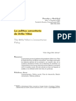 La Política Comunitaria de AUV