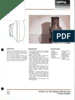 Philips 50 Watt Low Volt Halogen PAR-36 Lamps Bulletin 5-87