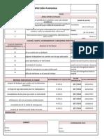 F- Informe de Inspecciones Planeadas