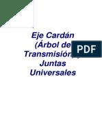 Eje Cardan_Juntas Universales