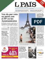El País, Portada 26-6-19