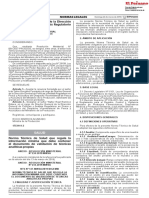 Resolucion Ministerial 234-2019 -MINSA Peru - Norma Tecnica Salud NTS 147-MINSA 2019 DIGEMID Informacion Minima Doc Validacion Tecnicas Analíticas Propias