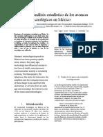 Estudio Del Análisis Estadístico de Los Avances Tecnológicos en México