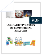 Comparitive Study of Commercial Antacids