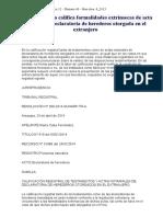 Registrador Solo Califica Formalidades Extrínsecas de Acta Notarial de Declaratoria de Herederos Otorgada en El Extranjero
