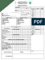 PRENATAL CHECKLIST.docx