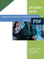 Constitucion de Compañias