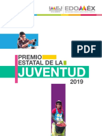 Premio Estatal de La Juventud Edomex 2019