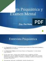 C1. Historia Psiquiatrica y Ex. Mental