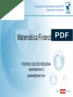 Presentación Matemática Financiera
