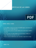 Características de Las Series CMOS