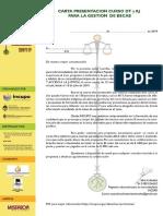 Carta Para Gestión de Becas - Curso virtual Derechos Territoriales 2019