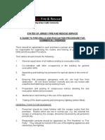 ID FireDrillsEvacuationProcedure 100101 LMR