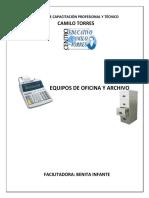Guia de Consulta Archivo y Equipo de Oficina