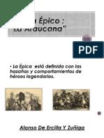 Poema Épico La Araucana (LISTO)