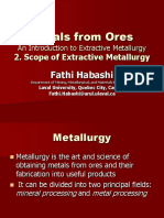 Scope of Metallurgical
