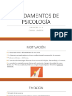 Fundamentos de Psicologia
