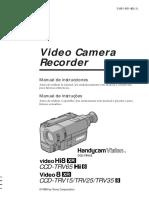Manual Cam Sony Español Portugues