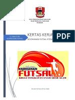 Kertas Kerja Kejohanan Futsal Hari Koko 2018