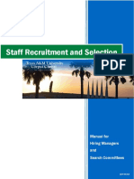 Recruitment and Selection Manual