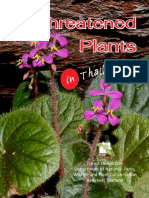 Threatened Plants in Thailand