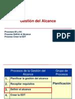Gestion Del Alcance, Procesos 03 y 04