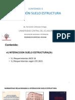 005 Modulo 5_interaccion Suelo Estructura_ UCE FIGEMPA_Fernando Cañizares _GISE