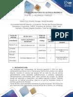 Informe Laboratorio - Química Orgánica _Practica 2