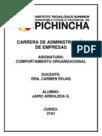 Mapa Clima Organizacional - Jairo Arboleda