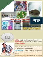 técnicas de transformación  en la industria farmacéutica