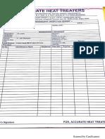 Demo site report format