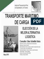 Transporte marítimo de carga