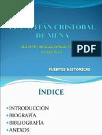 CAPITAN CRISTOBAL DE MENA.ppt