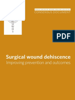 Consensus Document Surgical Wound Dehiscence Improving Prevention and Outcomes