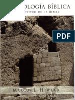 Arqueología bíblica Marcos Howard
